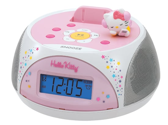 Totally Geeky or Geek Chic? Hello Kitty Alarm Clock