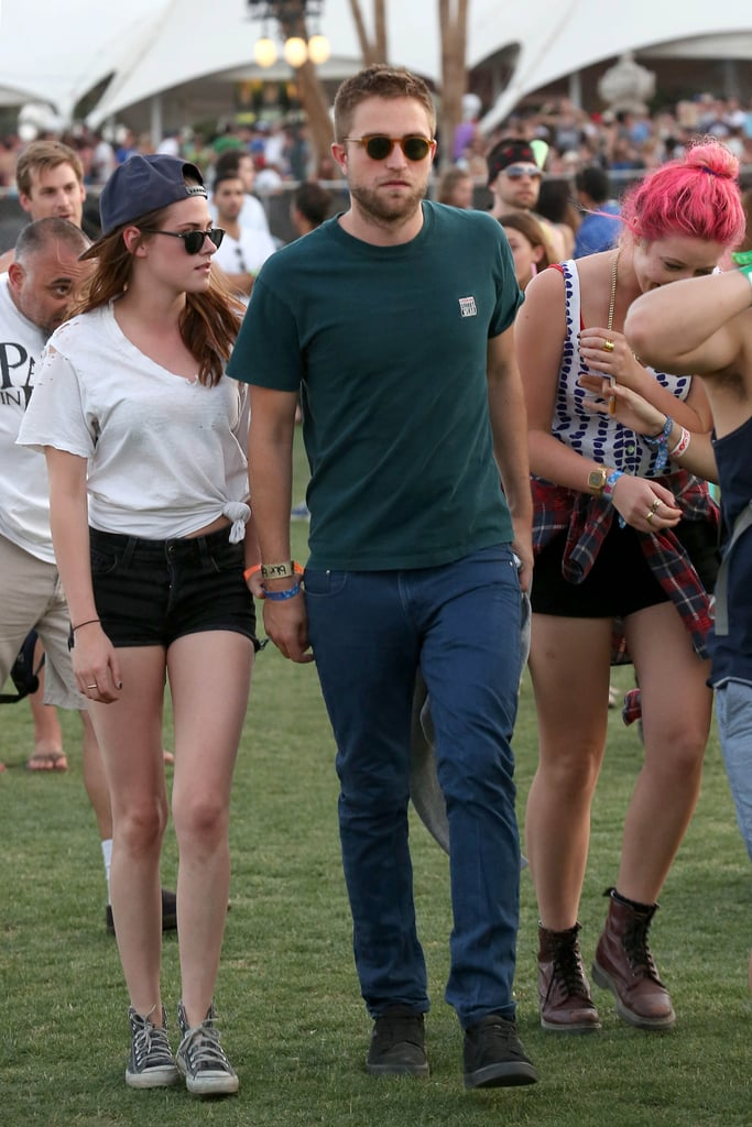 Kristen Stewart and Robert Pattinson went low key in 2013.