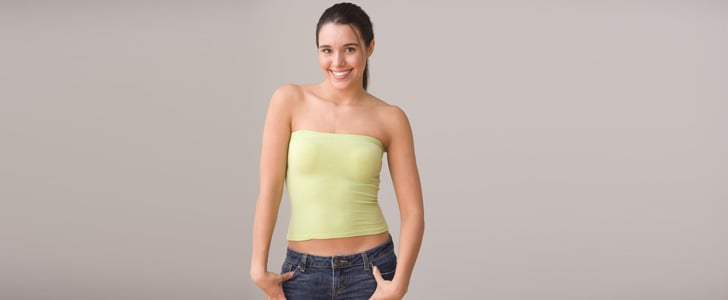 11. Bandeau-Style Tube Tops  Strapless tops will always have a place in the closet, but the snug-fitting style that popularized the early aughts has thankfully gone away. If you're still holding onto one . . . why? 12. Anything From College that DOES NOT FIT  It should go without saying, but if you're stashing a pair of shorts, your skinniest skinny jeans, or a dress you wore to that one fraternity formal and it simply does not fit, release it.