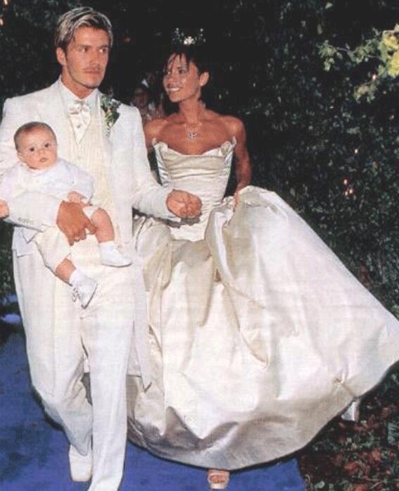 Victoria Beckham Celebrates a Big Day With Throwback Wedding Snaps