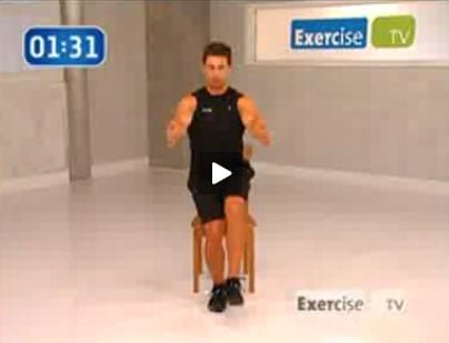 ExerciseTV: Single Leg Squats With a Chair