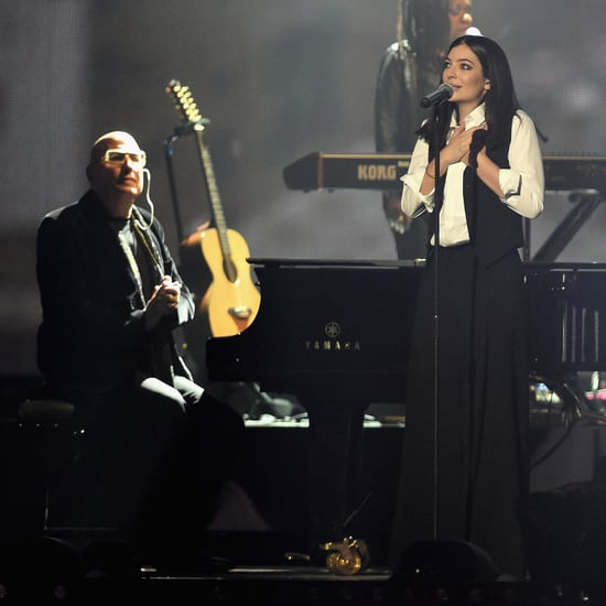 Video of Lorde's David Bowie Tribute at the Brit Awards