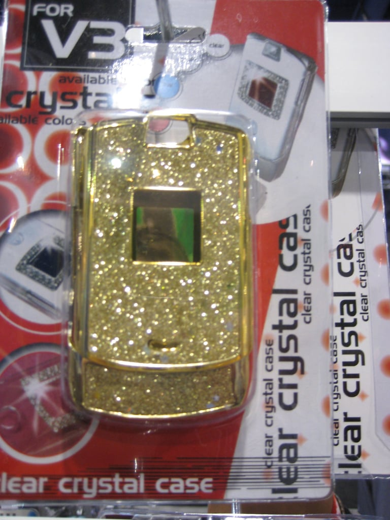 Cell Phones Protected by Crystals and Glitter