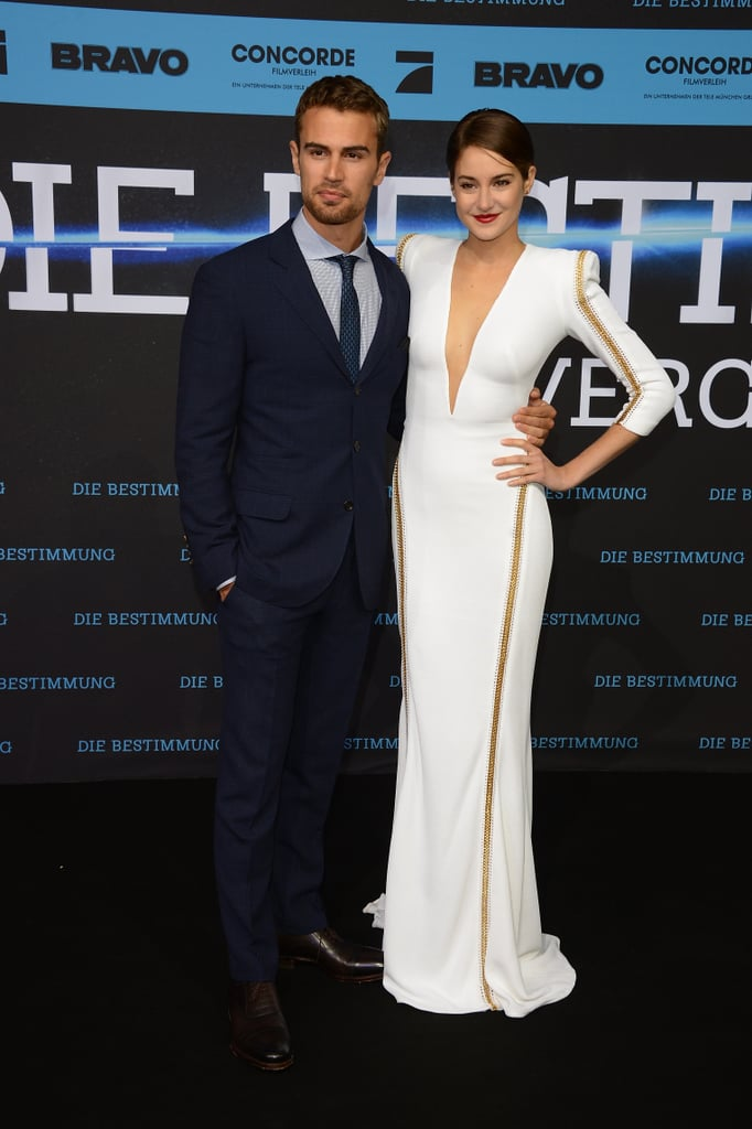 On Tuesday, Shailene Woodley and Theo James premiered Divergent in Berlin.