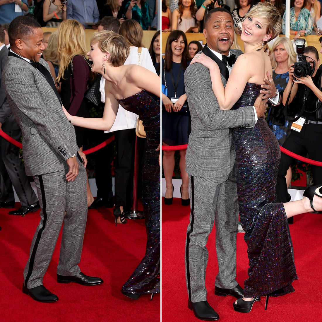 Actually, Cuba Gooding Jr. Is Her New Best Friend