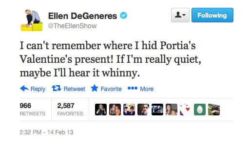 Hmm, we might be able to guess what is it, Ellen. . .