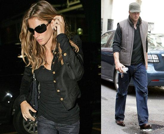 Photos of Tom Brady and Gisele Bundchen in New York City