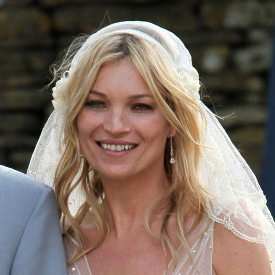 Kate Moss's Wedding Hair and Veil From Different Angles 2011-07-01 15:06:23