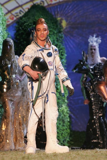 John Galliano Explains Why He Wears Costumes to Take His Runway Bow