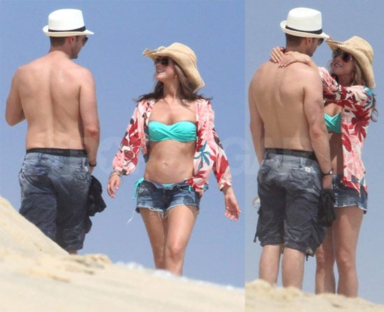 Julianne Hough Bikini Pictures With Shirtless Ryan Seacrest in Mexico