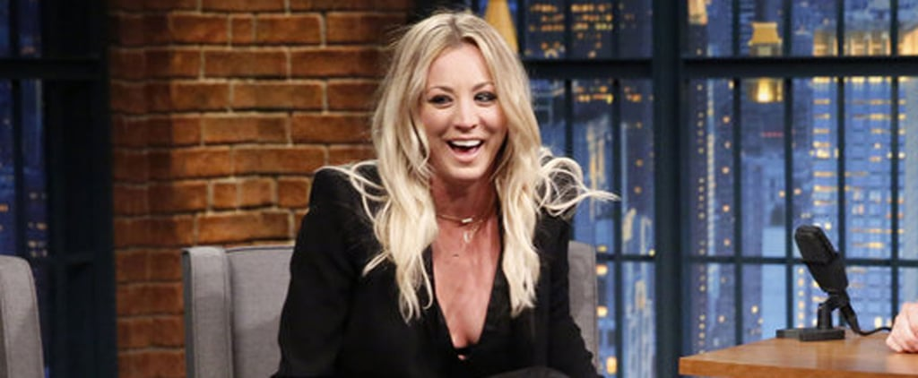 Kaley Cuoco Totally Freaked Out When She Met Jennifer Aniston (Can You Blame Her?)
