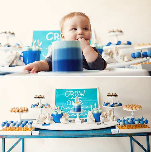 Surf-Inspired First Birthday Party