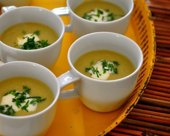 Simple Leek and Celery Root Soup Recipe