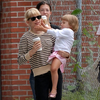 Michelle Williams and Matilda Ledger Stroll in Brooklyn
