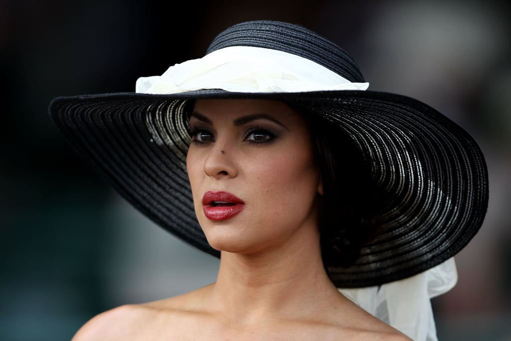 This black and white hat brought some chicness to the 2012 Derby.