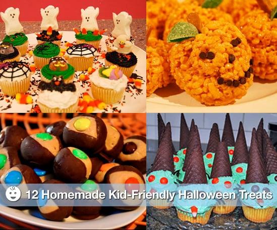 Sugar Shout Out: Homemade Kid-Friendly Halloween Treats