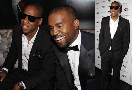 Pictures of Kayne West and Jay-Z at a Rocawear Event Held at the Gansevoort Hotel in NYC 2010-09-16 17:00:00