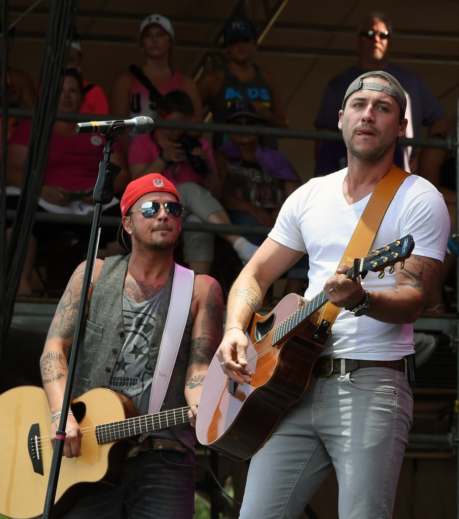 Stephen Barker Liles and Eric Gunderson of Love and Theft