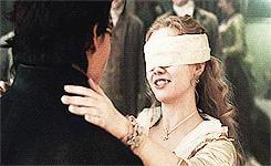 She Kissed Him Blindfolded