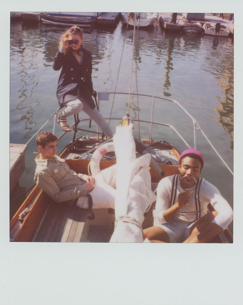 """Scott Sternberg's Spring 2010 Polaroid Lookbook Captures Leslie Mann as a """"Cougar with Two Younger Dudes"""""""