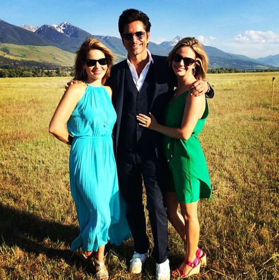 """Andrea: """"Full hearts here at @dcoulier and @melissabring's wedding."""""""