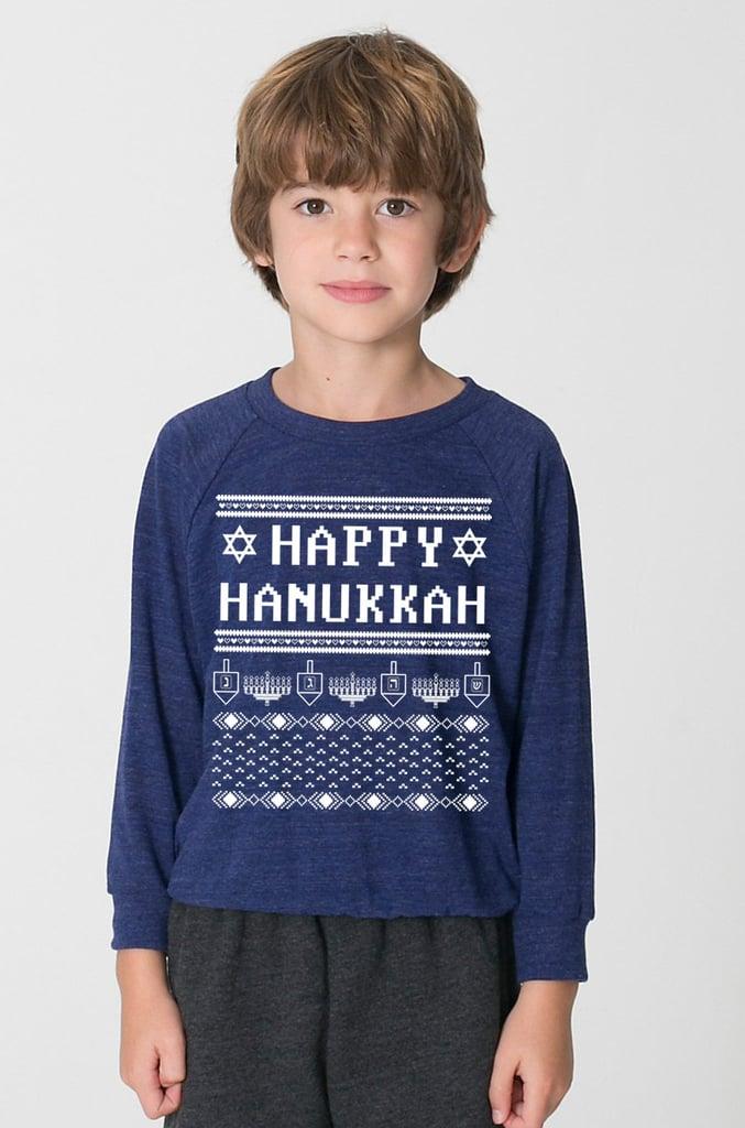 Kids' Ugly Hanukkah Sweater