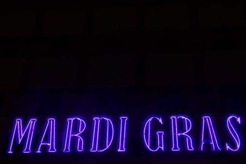 Come Party With Me: Mardi Gras Bash - Invitations