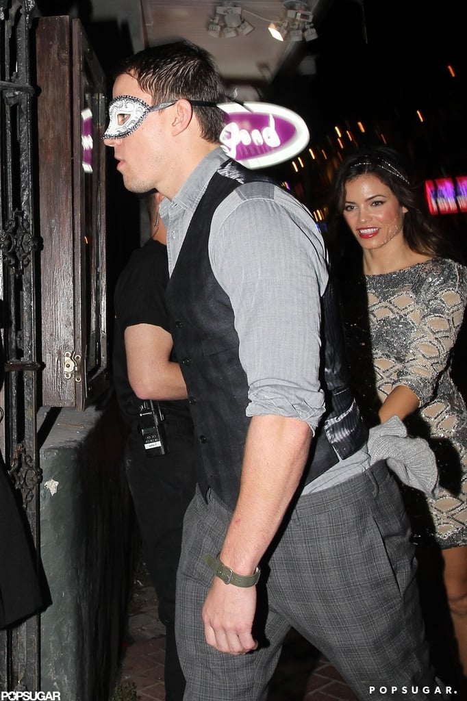 Channing and Jenna Celebrate Their New NOLA Bar With Jason and Rosie