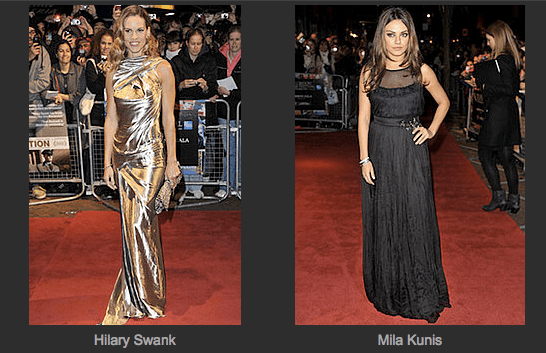 Red Carpet Style Game at London Film Festival
