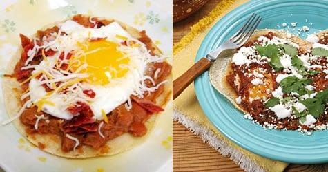 Huevos Rancheros Two Ways — Beginner and Expert