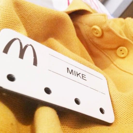 McDonald's Employee Facebook Post