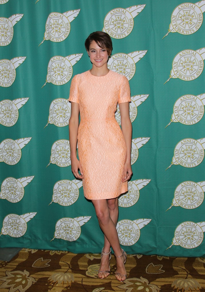 Shailene Woodley at the Annual Publicists Awards Luncheon