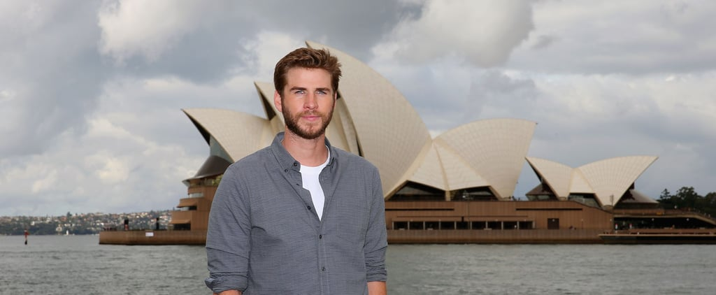 Liam Hemsworth's Photo Shoot in Australia Will Make Your Mouth as Dry as the Outback
