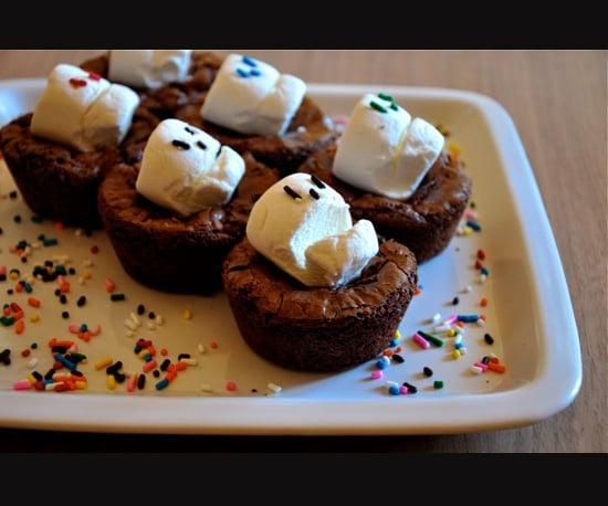 Marshmallow Sprinkle Skulls