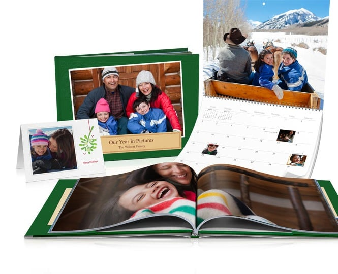 iPhoto Books and Calendars
