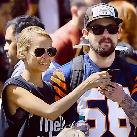 Nicole Richie and Joel Madden at Disneyland September 2015