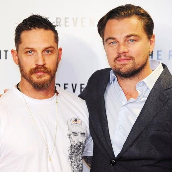 Leonardo DiCaprio at The Revenant Screening in London 2015