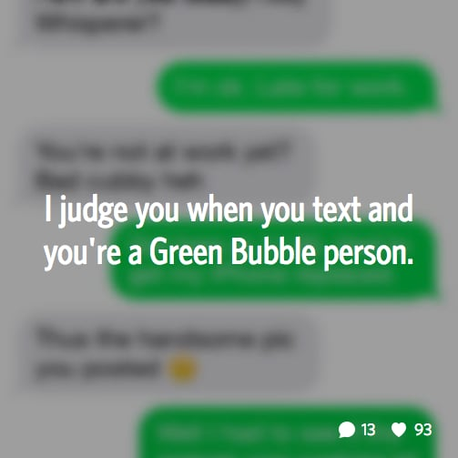 File that under texting problems.