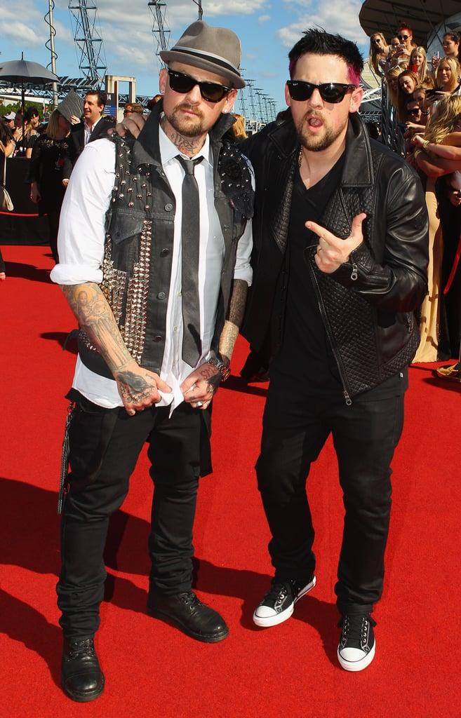 2011: Benji and Joel Madden