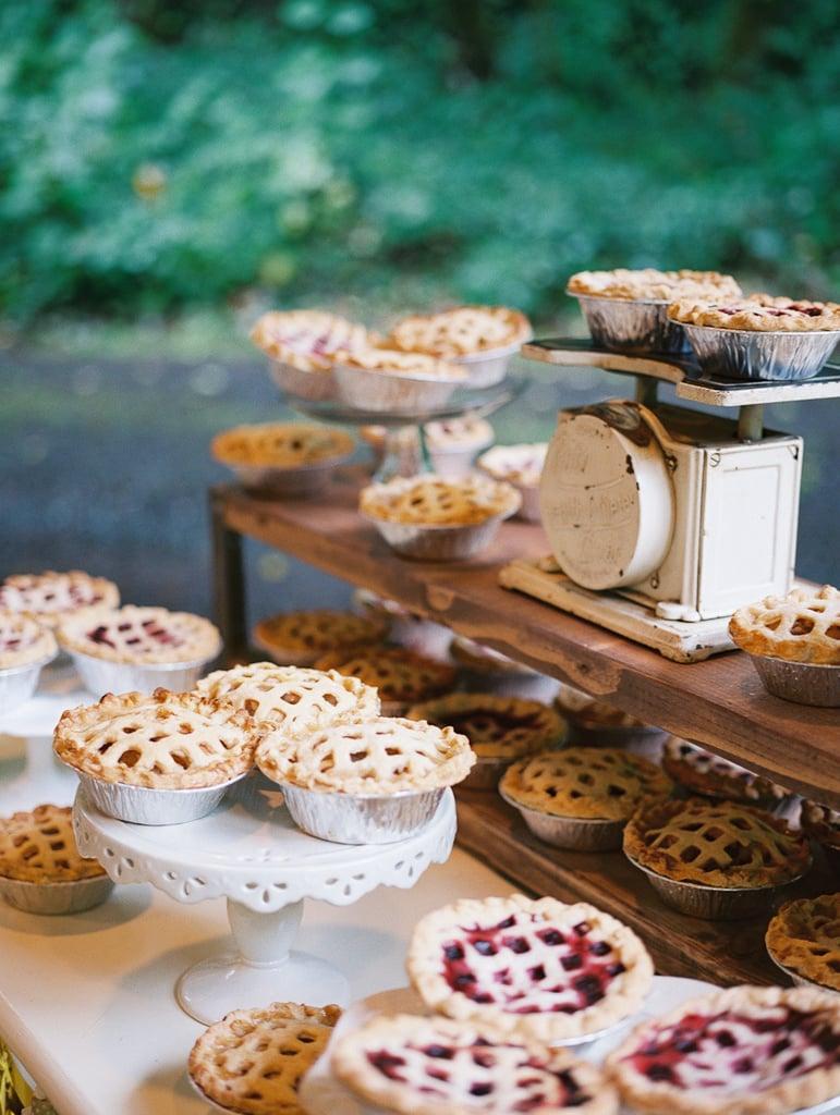 Rustic Pie Table