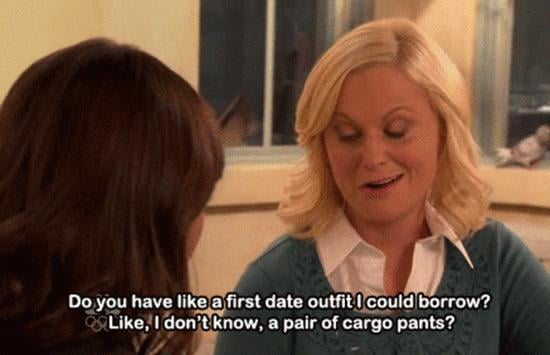 Don't overthink a first-date outfit.