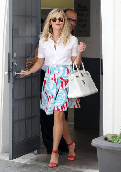 Reese Witherspoon looked polished for an afternoon of errands in LA on Thursday.