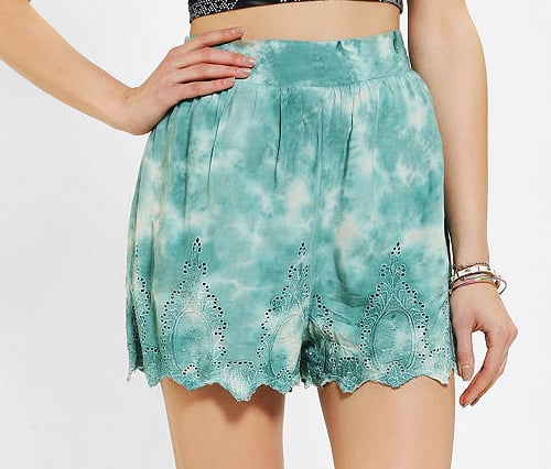 Channel your inner hippie chick in these Staring at Stars eyelet hem shorts ($49).