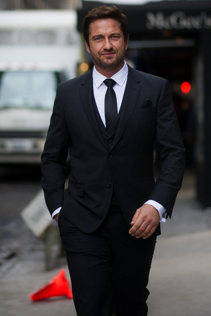 Gerard Butler For Hugo Boss