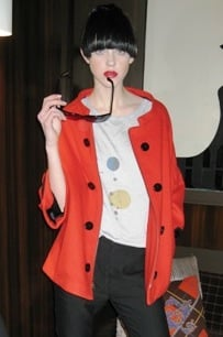 New York Fashion Week, Fall 2008: Catherine Holstein
