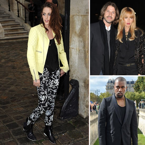 All the Stars at Paris Fashion Week — so Far!