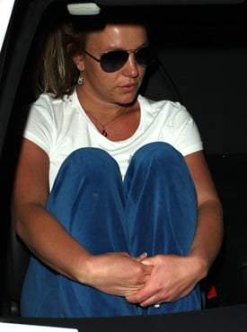 Britney Car Accident