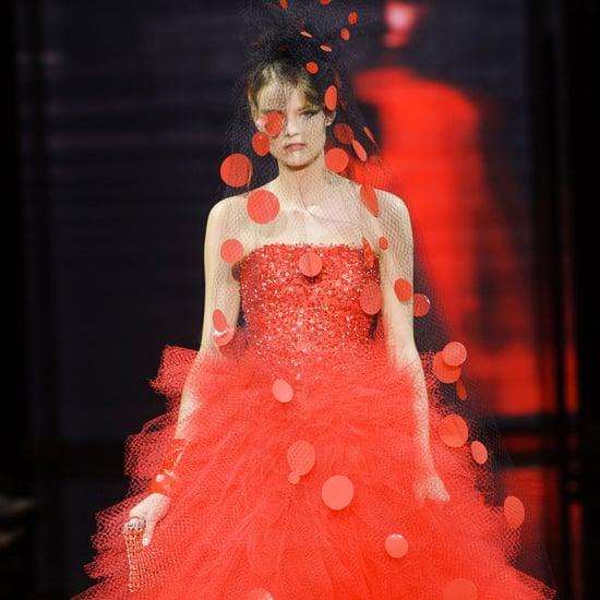 Giorgio Armani Prive Haute Couture Fashion Week Fall 2014