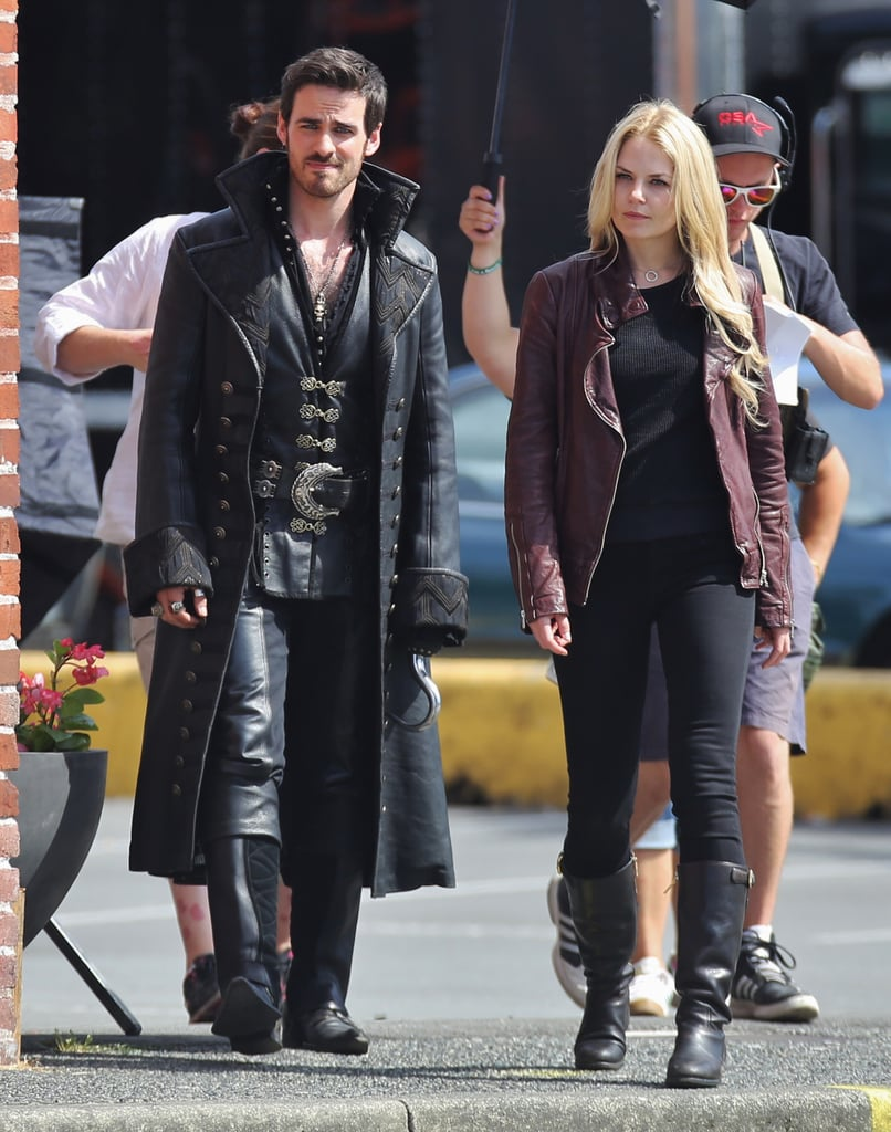 Captain Hook and Emma Get Close in Once Upon a Time Season 4