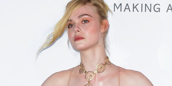 The Most Dramatic Dresses At The AMFAR Gala, Including Elle Fanning As A Peacock
